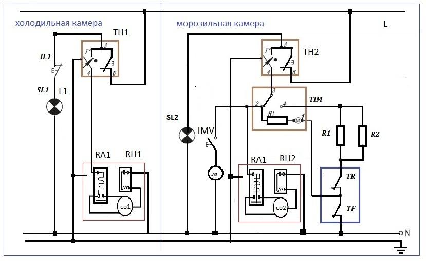 ТН1 —терморегулятор