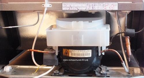 В состав холодильного агрегата