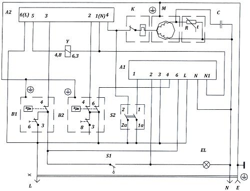 Схема холодильника атлант электрическая фото 770